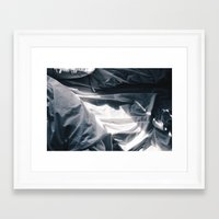 bed Framed Art Prints featuring Bed by Ryan Ly