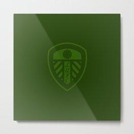 LUFC 18/19 Training Badge Metal Print