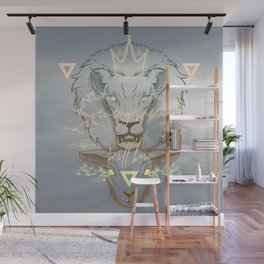 The Lion and the Lamb Wall Mural