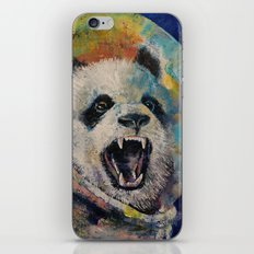 Space Panda iPhone & iPod Skin