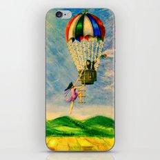 BALLOON LOVE: Flying Away iPhone & iPod Skin