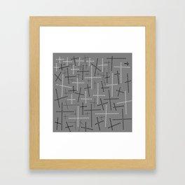 Croisement Grisgris Framed Art Print