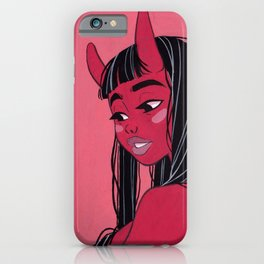 Demon Girl iPhone Case