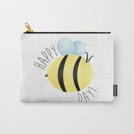 Happy Bee-Day Carry-All Pouch