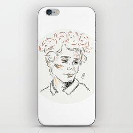Isak flowers iPhone Skin