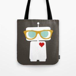 Quirky Robots Tote Bag