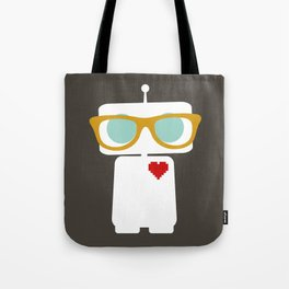 Quirky Robots Tote Bag