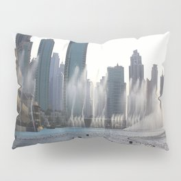 Dancing fountains, Dubai Pillow Sham