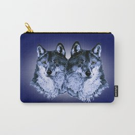 Season of the Wolf - Duet in Sapphire Carry-All Pouch