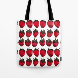 little strawberries Tote Bag