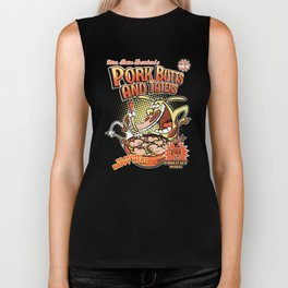 Pork butts and taters Biker Tank