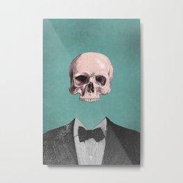 Dapper Dead Metal Print