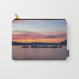 Sunset Lake Annecy Carry-All Pouch