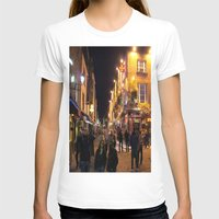bar T-shirts featuring Temple Bar by Flattering Images
