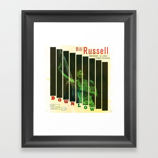 Down Low Framed Art Print