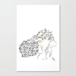 Bluesey Canvas Print
