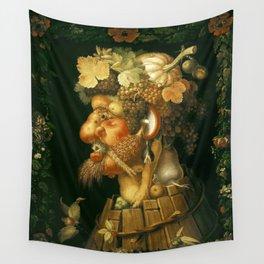 Giuseppe Arcimboldo autumn Wall Tapestry