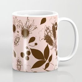 Botanical foliage neutral Coffee Mug