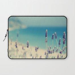 beach - lavender blues Laptop Sleeve