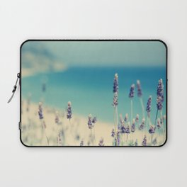 beach - lavender blues Laptop Sleeve