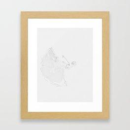 """Infinita belleza"" * 7 Framed Art Print"