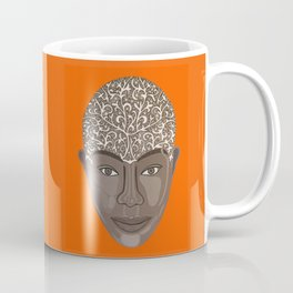 brown visage Coffee Mug