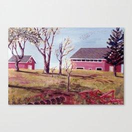 Evangeline  Trail, Nova Scotia             By Kay Lipton Canvas Print