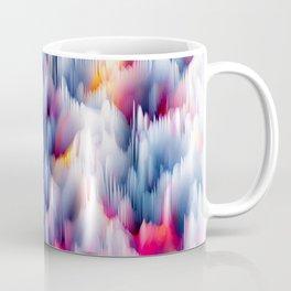 Abstract Colorful Waves Coffee Mug