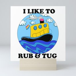 Rub N Tugboat-PAN2 Mini Art Print