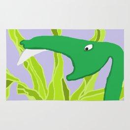 Worried Snake Rug