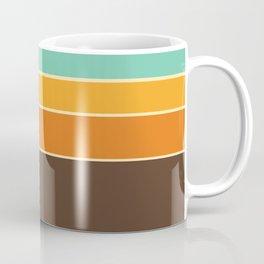 70's Geometric Pattern One Coffee Mug