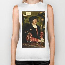 Hans Holbein  - Portrait of Georg Giese Biker Tank