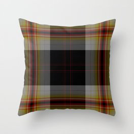 Tartan pattern Throw Pillow