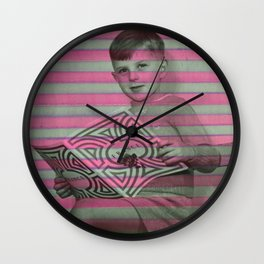 Readings Wall Clock