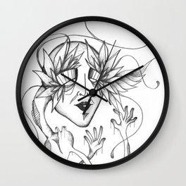 Choked Up Wall Clock