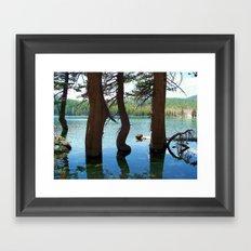 Gentle Bend Framed Art Print
