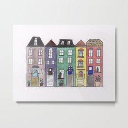 House Buddies Metal Print