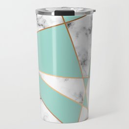 Marble Geometry 055 Travel Mug