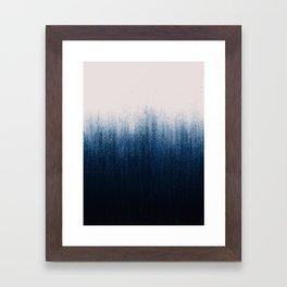 Jean Ombré Framed Art Print