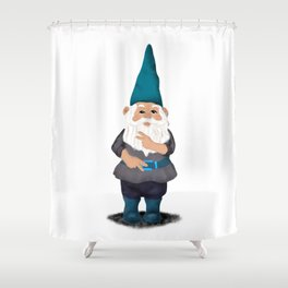 Hangin with my Gnomies - Peace Out Shower Curtain