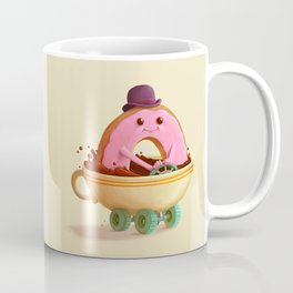 Donut Car Coffee Mug