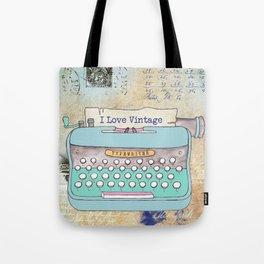 Typewriter #3 Tote Bag