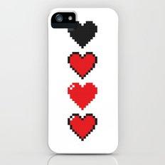 Pixel Hearts Slim Case iPhone (5, 5s)