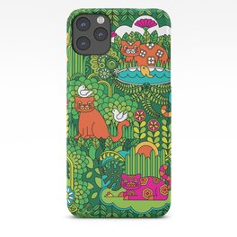 Lords of the Jungle iPhone Case