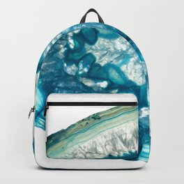 Whale agate slice Backpack