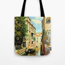Venezia - Venice Italy Vintage Travel Tote Bag