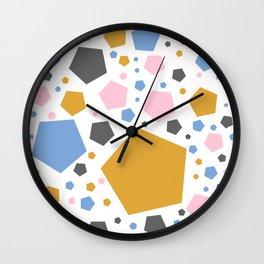 Glitter Terrazzo Wall Clock