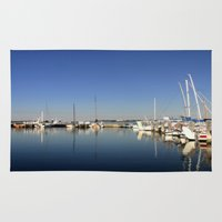 australia Area & Throw Rugs featuring Paynesville - Australia by Chris' Landscape Images & Designs