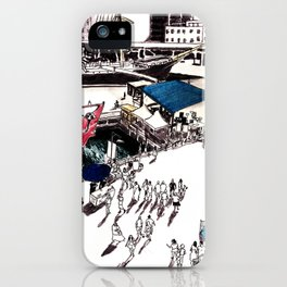 South Street Seaport, NYC iPhone Case