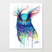 aurora Canvas Prints featuring -Aurora- by PeeGeeArts